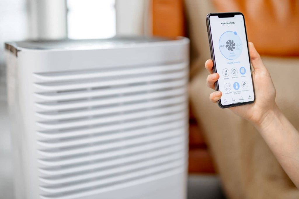 Smart Wi-Fi Air Purifier for Large Room3