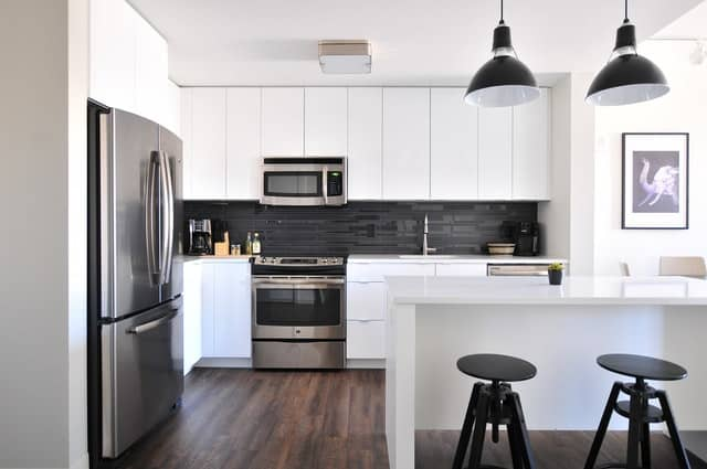 HOW TO MAKE A SMALL KITCHEN LOOK BIGGER WITH PAINT?